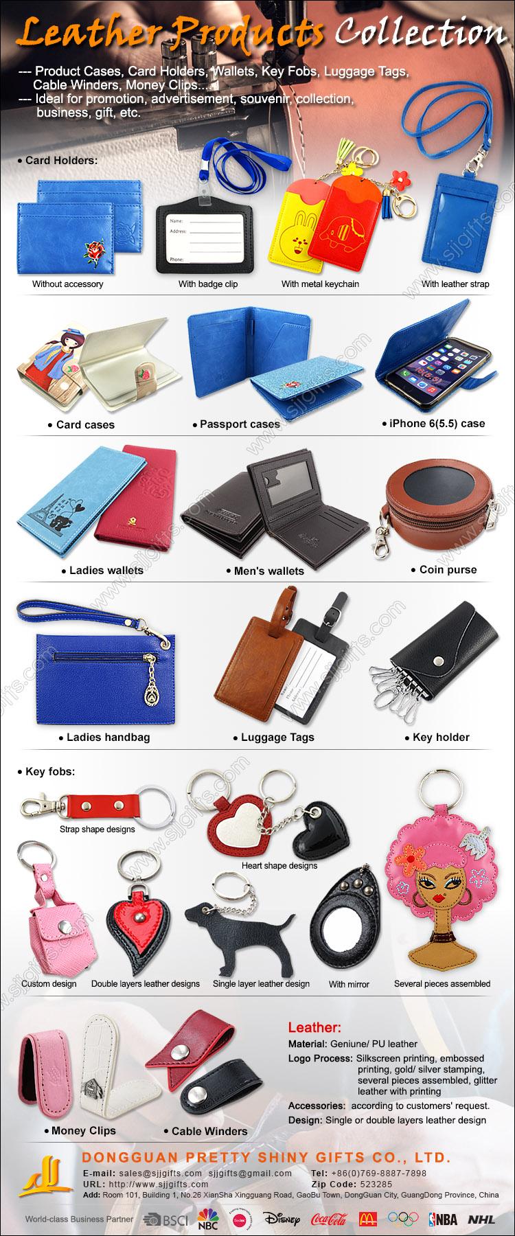 leather made souvenir items